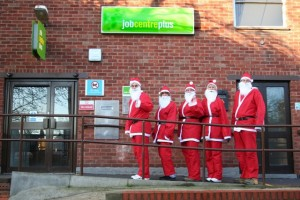 Job Centre on Christmas Day