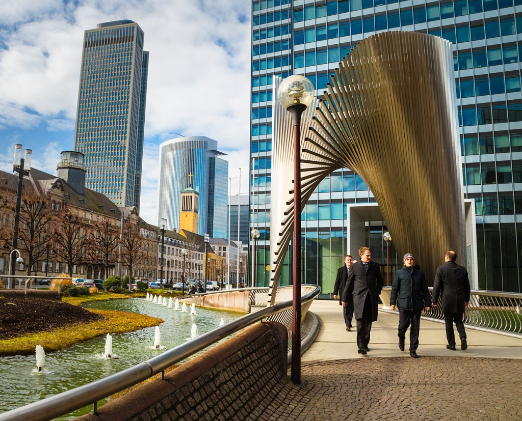 Returns to Scale in Frankfurt's business district
