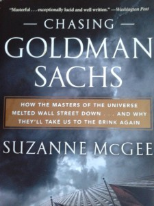 'Chasing Goldman Sachs'  by Suzanne McGee