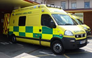 West Midlands NHS Emergency Ambulance by <a href='https://www.flickr.com/photos/lydiashiningbrightly/5893752031/'> Lydia</a>