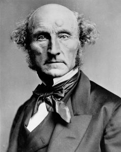 John Stuart Mill by London Stereoscopic Company, c.1870