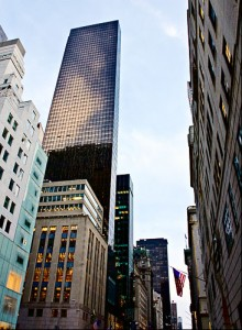 Fifth Avenue and Trump Tower, New York City
